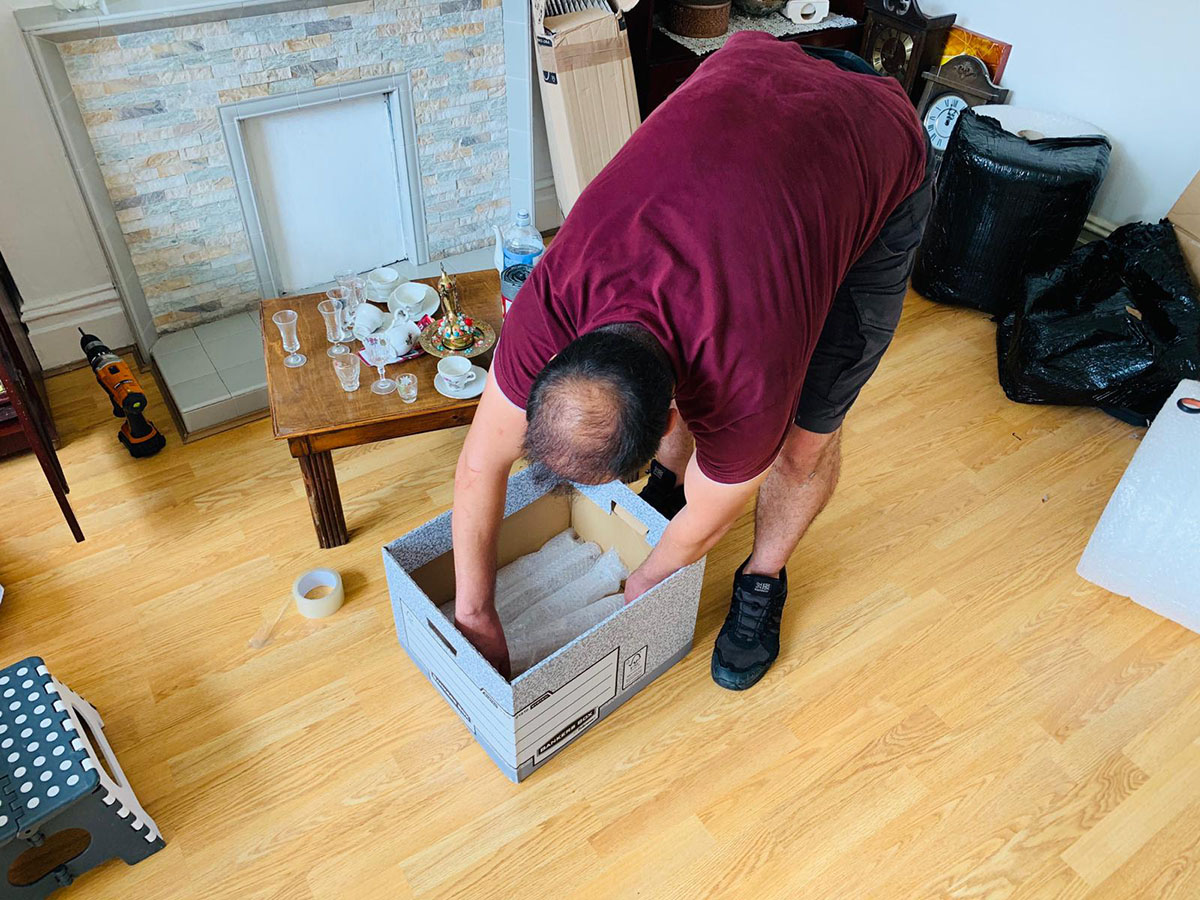 house removals and packaging london
