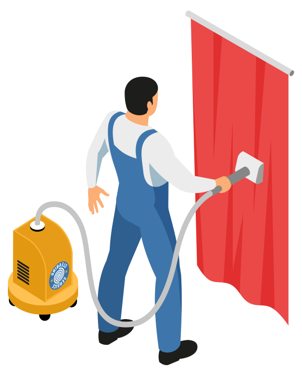 curtain cleaning services - Ryan Carpet Cleaning