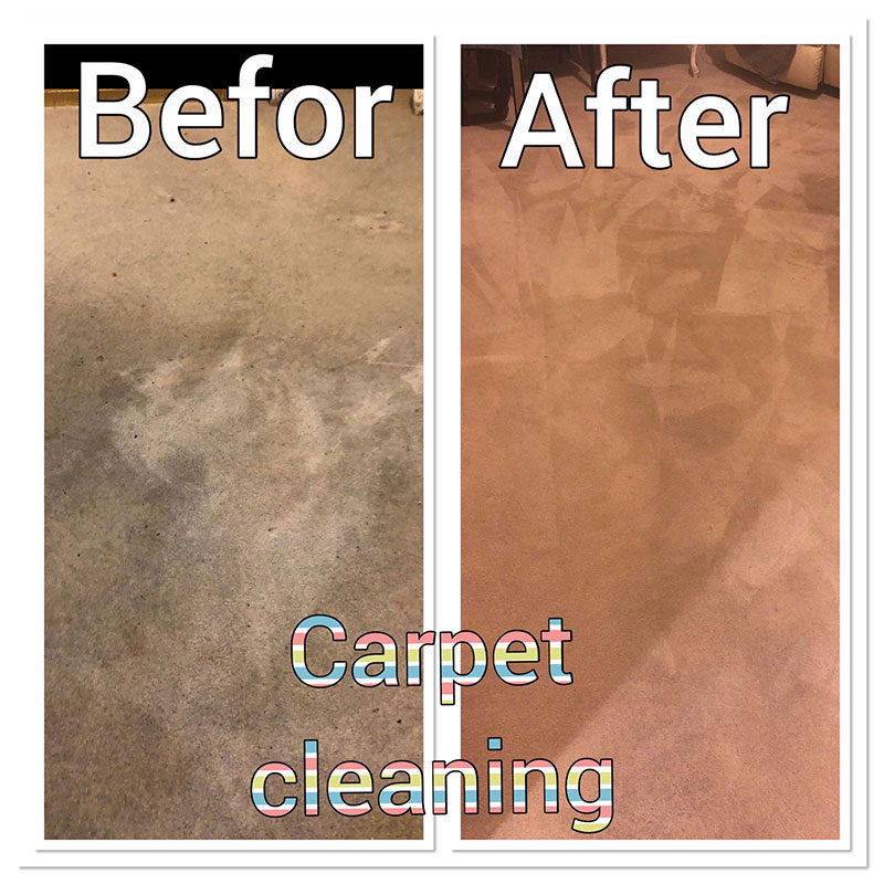 Before After Image 3 - Ryan Carpet Cleaning