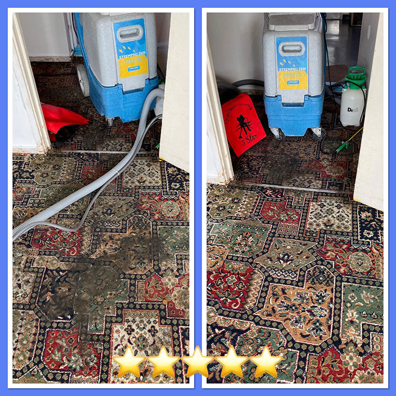 Before After Image - Ryan Carpet Cleaning